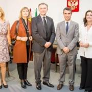 Inauguración del Consultado Honorario Ruso de Andalucía en Marbella