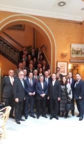 Reunión de la asociación del cuerpo consular