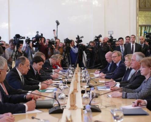 Discurso introductorio del Ministro ruso de Asuntos Exteriores, Serguéi Lavrov, en las negociaciones con el Secretario de Estado de EEUU