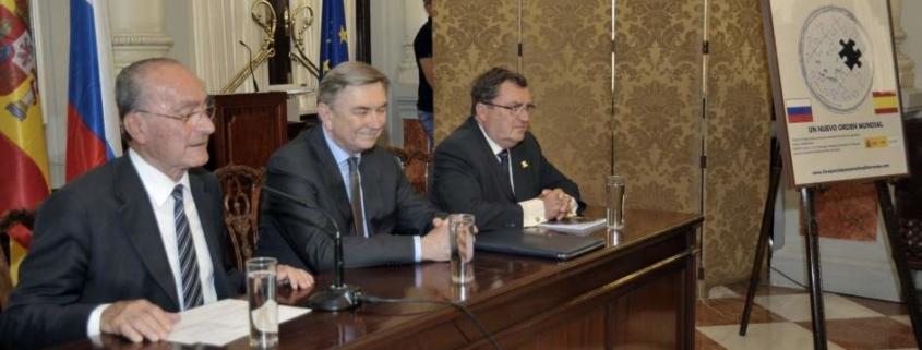 La Cónsul Horario de Rusia en España, presente en las jornadas del Foro para la Paz en el Mediterráneo