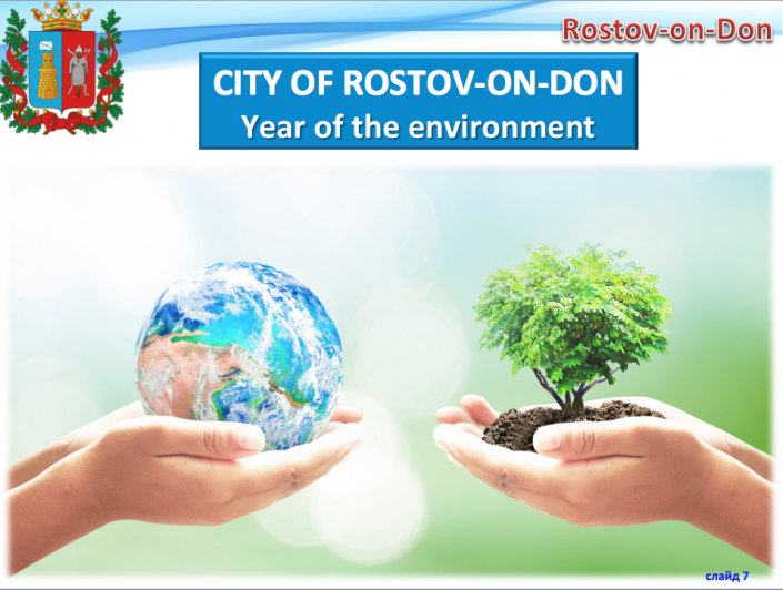 year of the environment
