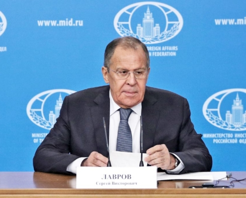 Discurso y respuestas a preguntas de los medios ofrecidos por el Ministro de Asuntos Exteriores de Rusia, 15 de enero de 2018