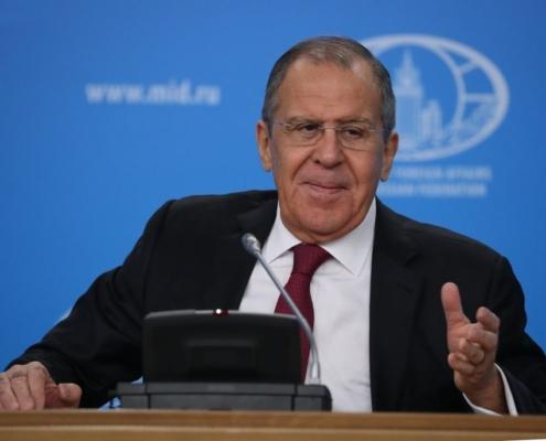 Discurso y respuestas a preguntas de los medios ofrecidas por el Ministro de Asuntos Exteriores de la Federación de Rusia, Serguéi Lavrov, durante la rueda de prensa dedicada a los resultados de la labor de la diplomacia rusa en 2018, Moscú, 16 de enero de 2019