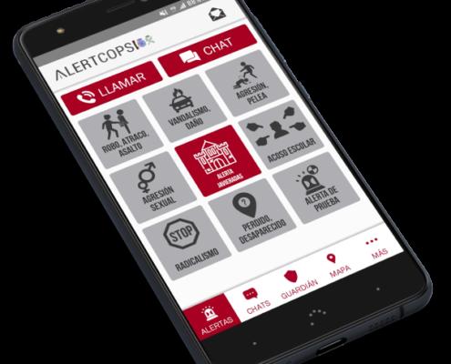 Alertcops, una aplicación útil con la policía