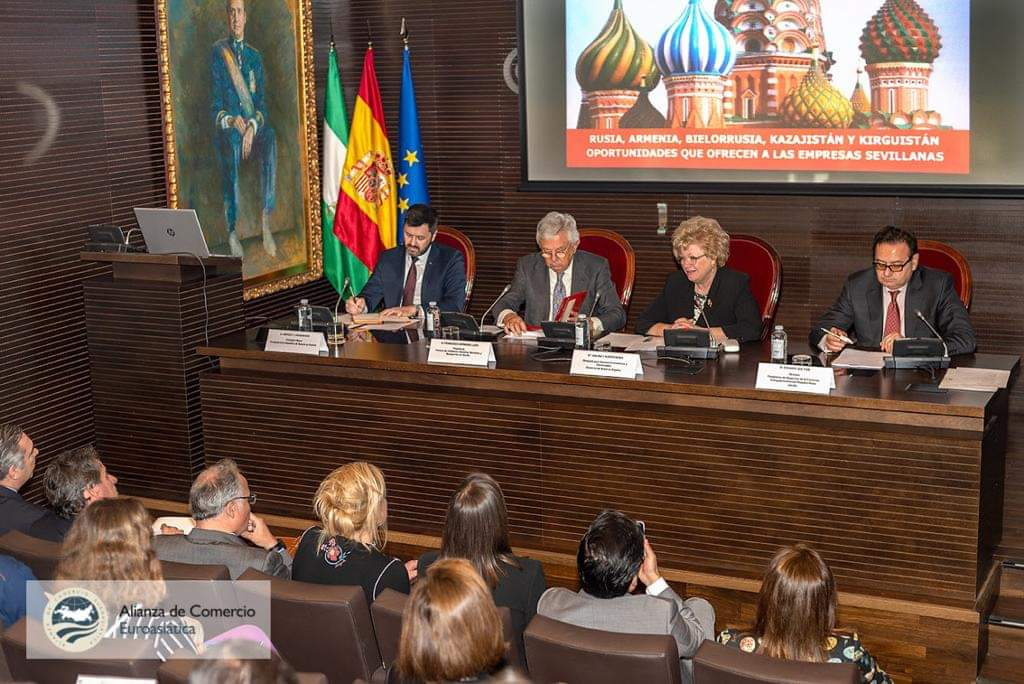 RUSIA, ARMENIA, BIELORRUSIA, KAZAJISTÁN Y KIRGUISTÁN, OPORTUNIDADES QUE OFRECEN A LAS EMPRESAS SEVILLANAS