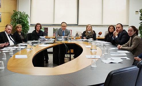 Delegación de la Región de Samara (21/01/2014)